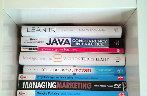 Women in marketing - the marketing bookshelf