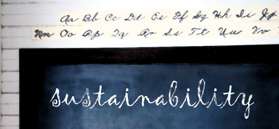 selling sustainability to consumers - going back to school and blackboard